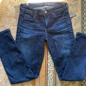 Like NEW Citizen of Humanity skinny blue